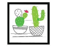Quadro Cactus - 44x44cm