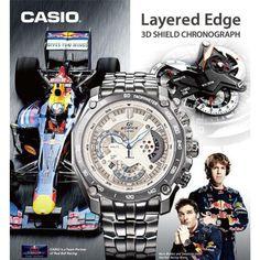 Relógio Casio Edifice EF- 550RBSP - 7AV Original