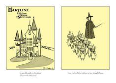 Madeline meets Hogwarts