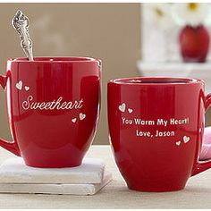 Romantic Nickname Personalized Coffee Mug- A great gift for your sweetheart!