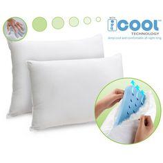 SovaPEDIC 2 Pack Memory Foam and Fiber Pillows