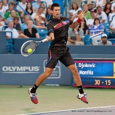 Djoko forehand #tennis