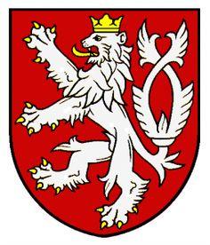 Kingdom of Bohemia wappen Kingdom Of Bohemia, Czech Tattoo, Czech Republic Flag, Summer Tattoo, National Animal, Heart Of Europe, Lion Tattoo, Crests, Coat Of Arms