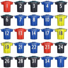 2014-15 1st Team Squad - Chelsea FC