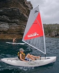 Hobie Mirage Adventure Island Sail Kayak Kayaking Kayaker