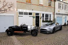 The youngest and oldest cars from @AstonMartin