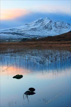 Blaven in the Gloaming. Cill Chriosd. Isle of Skye. Scotland.