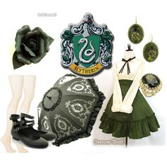 Classic Slytherin, created by ichigothi