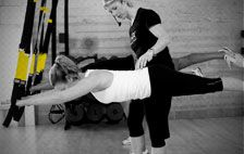 TRX + Barre = Barre X by Dancer Body Fitness...Awesome, fun workout!