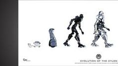Thumbnail of Evolution of the Cylon Poster