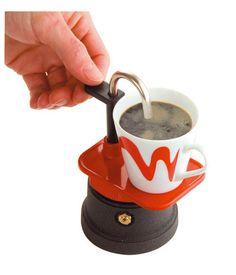 """Mini máquina de café Espresso, un design original en perfecta armonía con un """"Made in Italy"""" de alta calidad!"""