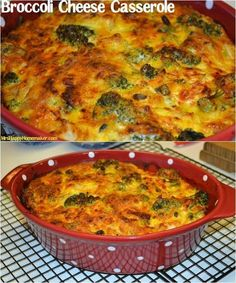 This is my FAVORITE recipe for Broccoli Cheese Casserole.  Anyone who tries it wants the recipe!  SO YUMMY!!