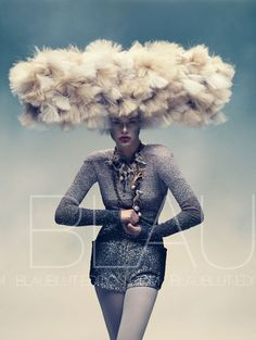 Photographers: Abrar & Hoving / Blaublut Edition, Model: Lana Zakocela