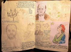 Philip Weaver - sketch book pages