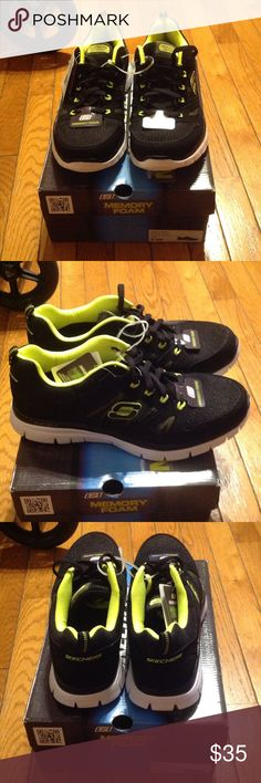 1e6f1fb387a6 Skechers memory foam sneakers Lightweight for speed and pliable for  movement