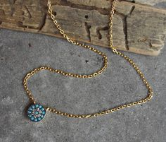 Check out this item in my Etsy shop https://www.etsy.com/listing/519678876/silver-necklaceturquoise-pendantsilver