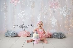 For photo shoot....love the back drop for this, don't know if it would be too hard. probably would be too big of a distraction for Adi. might could do this in front of the blinds in your kitchen. We can get tulle and then the icle lights and snow flakes would be easy I think.