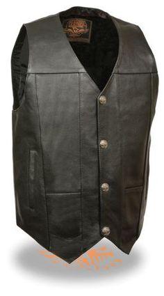 8 Best Menswear images   Menswear, Leather vest, Concealed