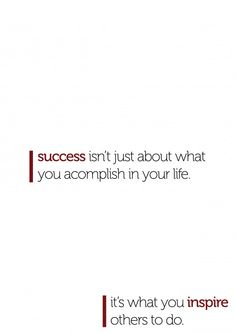 What success is all about...