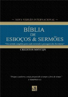 Issuu is a digital publishing platform that makes it simple to publish magazines, catalogs, newspapers, books, and more online. Easily share your publications and get them in front of Issuu's millions of monthly readers. Title: Biblia de esboços e sermões filemon, Author: puritanosdf, Name: Biblia de esboços e sermões filemon, Length: 41 pages, Page: 1, Published: 2016-04-08