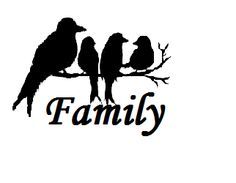 Bird family Stencil Designs, Vinyl Designs, Paint Designs, Wood Burning Crafts, Wood Burning Patterns, Silouette Art, Glass Engraving, Animal Silhouette, Birdcages