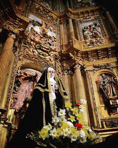 Nuestra Señora del Mayor Dolor en la Iglesia de Santiago Apóstol de Cigales