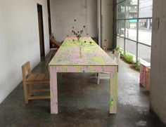 Coloring Table Nagasaki/Remodelista