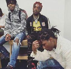 A$AP Rocky, Lil Uzi Vert, & Playboi Carti @GottaLoveDesss
