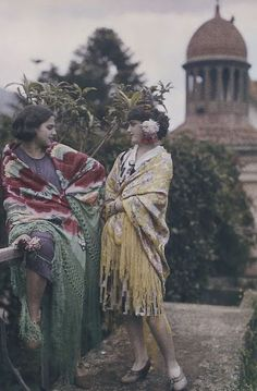 Rare Autochrome Pictures of Spanish Women in the early 1900s