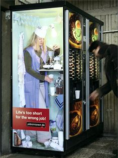 Clever advertising campaign