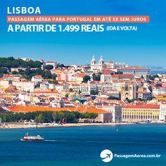 Voos promocionais para Lisboa em até 5x Sem Juros.  Saiba mais: https://www.passagemaerea.com.br/lisboa-portugal.html  #lisboa #portugal #passagemaerea