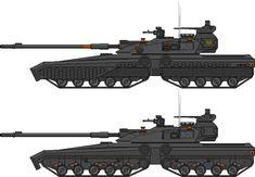 Army Vehicles, Armored Vehicles, Future Weapons, Modern Tech, Spaceship Design, Ww2 Tanks, Cool Tanks, Battle Tank, Tank Design
