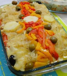 Cod Fish Recipes, Seafood Pasta Recipes, Bacalhau Recipes, Cookbook Recipes, Cooking Recipes, Portuguese Recipes, Fish Dishes, Food Inspiration, Good Food