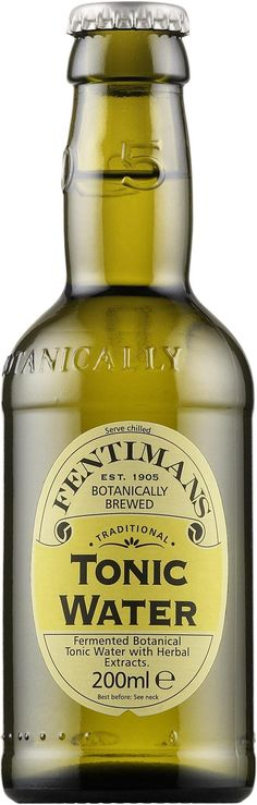 Fentimans Tonic Water.