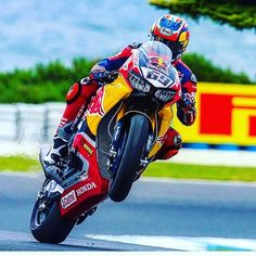 """This never got old watching you do your magic with @nicky_hayden .... You WILL be greatly missed . A True Champion~ """"Poetry in Motion""""... #69nickyhayden #championinheaven #gonetosoon"""
