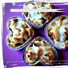 Apple Tart Apple Tarts, Mini Heart, Yummy Cakes, Baking, Apple Pies, Bakken, Backen, Sweets, Apple Dump Cakes