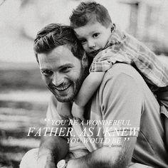 Daddy Christian. #FiftyShades #FiftyShadesFreed #ChristianGrey