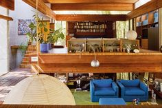 Residential Architecture, House Architecture, Boarding House, Pacific Palisades, Mid Century, California, Furniture, North America, Interiors