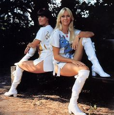 ABBA: Need I say more. Agnetha was my childhood crush. Super Gorgeous and incredibly beautiful voices both.