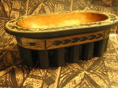 Kava Bowl   Oblong and Unusual