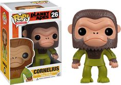 ThePlanet of the Apesprotagonist is here in Pop! Vinyl form! Whether you're a fan of the novel, original movies, or the remake, this is a must have piece for any POTA fan! Proudly brought to you by Popcultcha - Australia's largest and most comprehensive Pop! Vinyl online store. To see more of our Pops!, please clickhere.