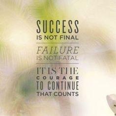 Failure is NOT FINAL!!!!