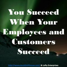 Your employees, customers, partners, and suppliers — if they succeed when working with you, then you will succeed. Sure, there are people who look for a free ride and won't do the work. In fact, some people need to go to another team. But they are the minority. There's a place for the talents and desires of most who are already on your team. Make it work for them and they make it work for you. #followme #repost #makemoneyonline #successwithme #lifestyle