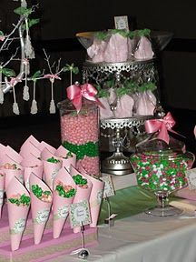 #pink + #green #event ❤ #bridalshower ❤'d by wedfunapps.com