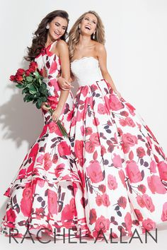 Floral time with Rachel Allan Prom #ipaprom
