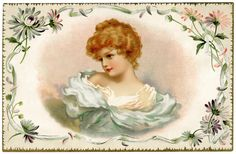 Here is a pretty Victorian card for you.   Click on image to enlarge.
