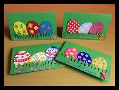 Velikonoční přání s vajíčky art lesson Easter Arts And Crafts, Easter Projects, Bunny Crafts, Spring Crafts, Holiday Crafts, Easter Activities, Preschool Crafts, Diy Easter Cards, Art For Kids