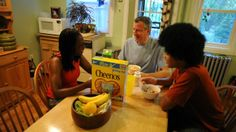 Chirlane McCray, her husband Bill de Blasio and son Dante. (Photo courtesy of BilldeBlasio.com)--I love this family!!