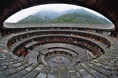 Fujian Tulou building