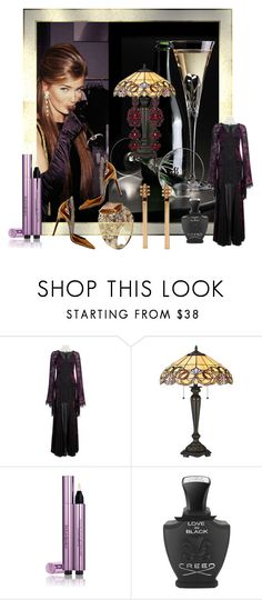 """""""Untitled #8337"""" by snowmoon ❤ liked on Polyvore featuring Quoizel, Yves Saint Laurent and Creed"""
